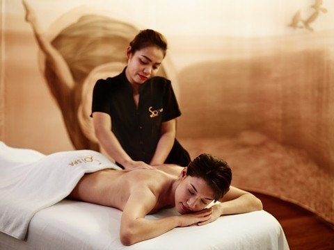 60min Thai Massage for 2 persons at SoSPA